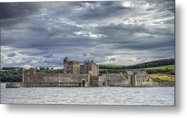Blackness Castle Metal Print