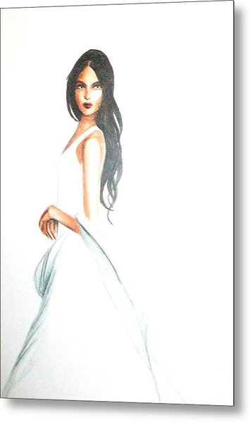 Blanca Metal Print