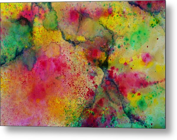 Blast Metal Print by Nicole Lee