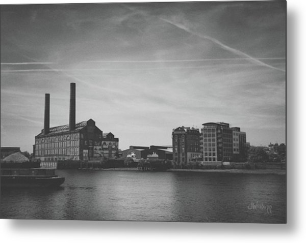 Bleak Industry Metal Print