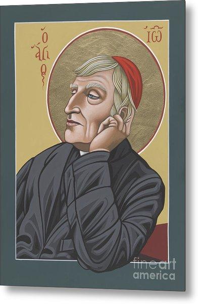 Blessed Cardinal John Henry Newman 221 Metal Print
