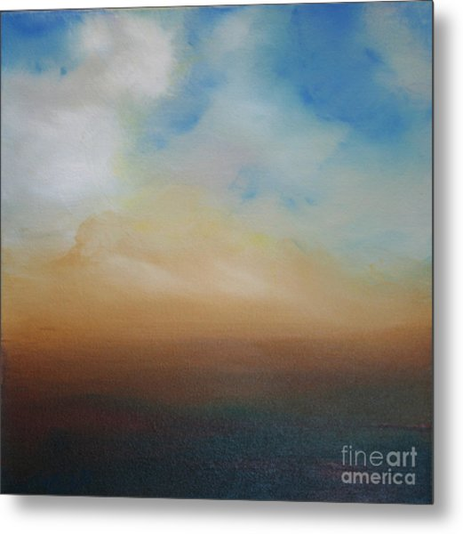 Blessed Metal Print by Michele Hollister - for Nancy Asbell