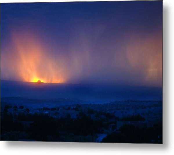 Blessed To Be Born On 6.6. Metal Print by Frank Vigneri