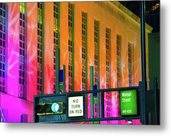 Blink Cincinnati - Potter Stewart U.s. Courthouse Metal Print