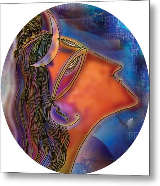 Bliss Shiva Metal Print