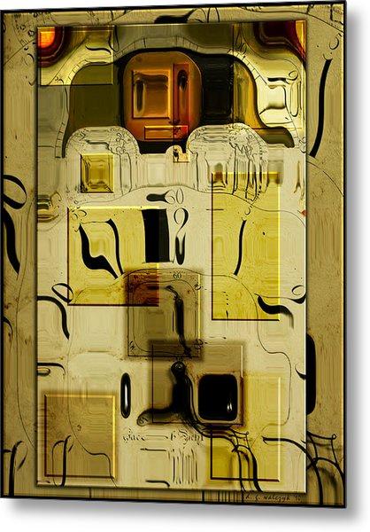 Blocks Of Time Metal Print by Daniel G Walczyk