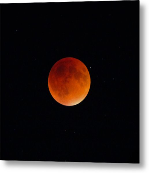 Blood Moon 2 Metal Print