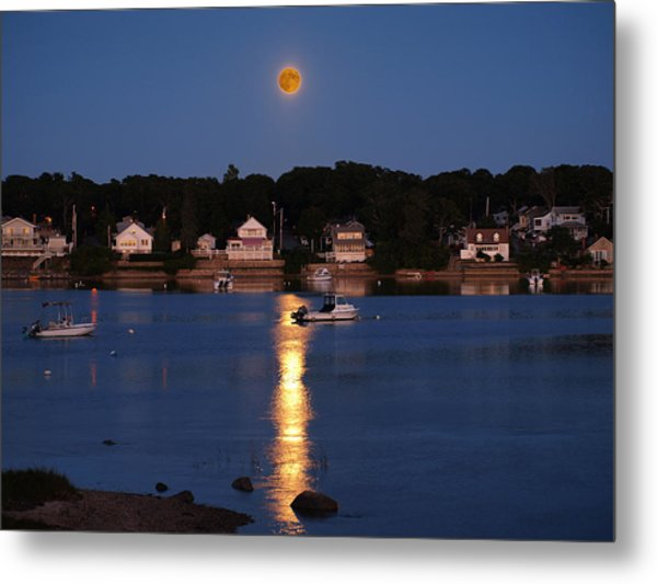 Blood Moon Metal Print