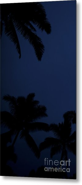 Blood Moon In Hawaii  - Triptych   Part 1of 3 Metal Print