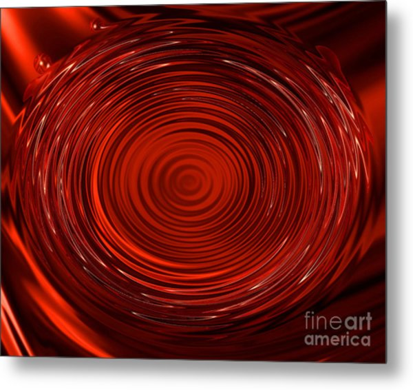 Blood Tears Metal Print