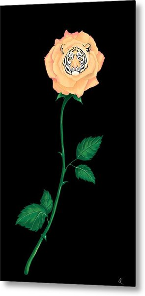 Blooming Bengal Metal Print