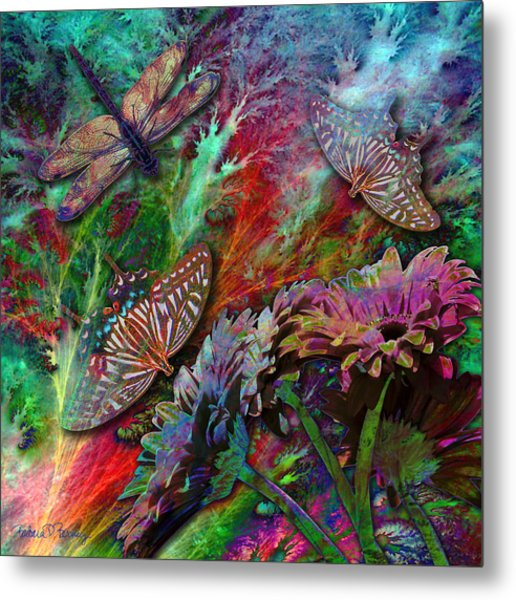 Blooming Color Metal Print