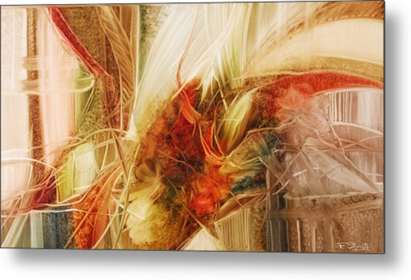 Blooming In The Dawn Metal Print by Fatima Stamato