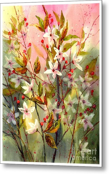 Blooming Magical Gardens I Metal Print