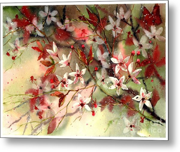Blooming Magical Gardens IIi Metal Print