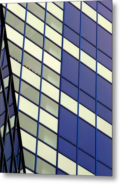 Blue 1114 Metal Print