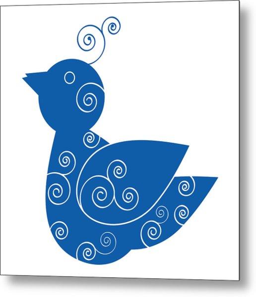 Blue Bird Metal Print by Frank Tschakert