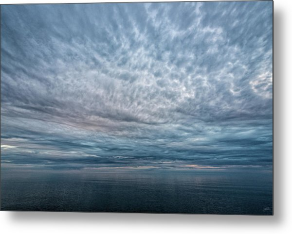 Blue Calm Metal Print