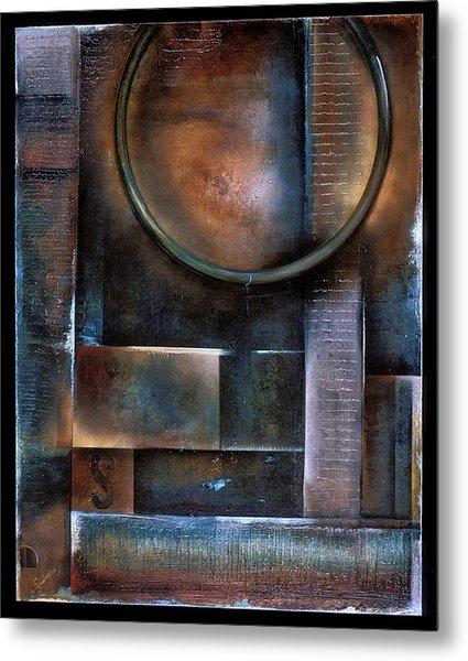Blue Drop Metal Print by Stephen Schubert
