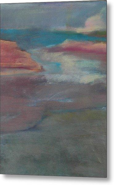 Blue Dune Metal Print