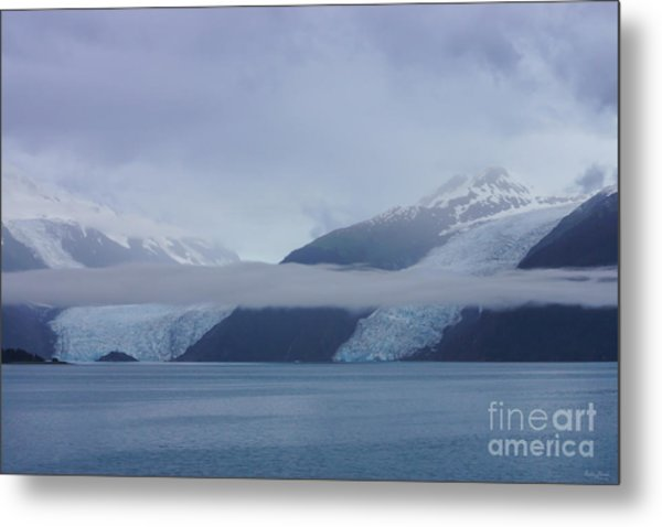 Blue Escape In Alaska Metal Print