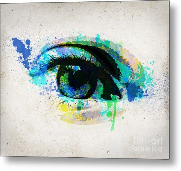 Blue Eye 8x10 Metal Print