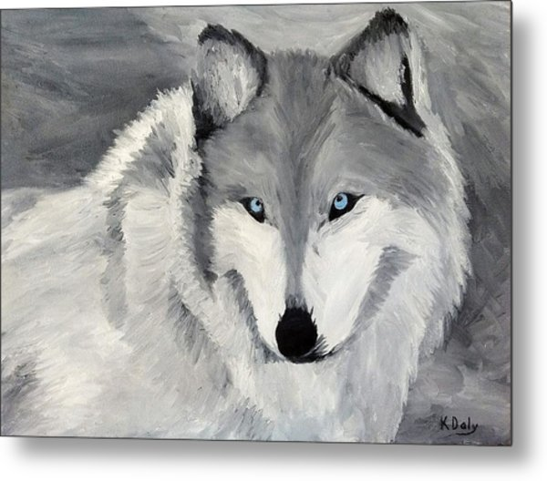 Blue Eyes Metal Print