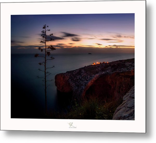 Blue Grotto Metal Print