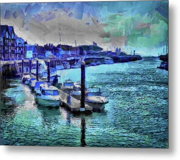 Blue Harbour Metal Print