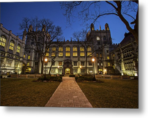 Blue Hour Harper Metal Print