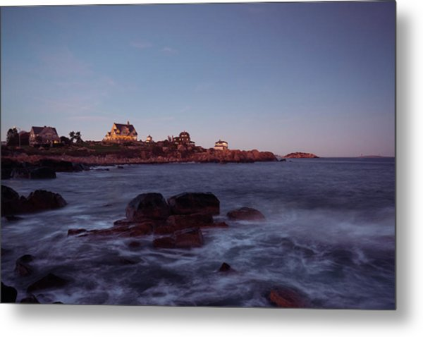 Blue Hour In Gloucester Metal Print