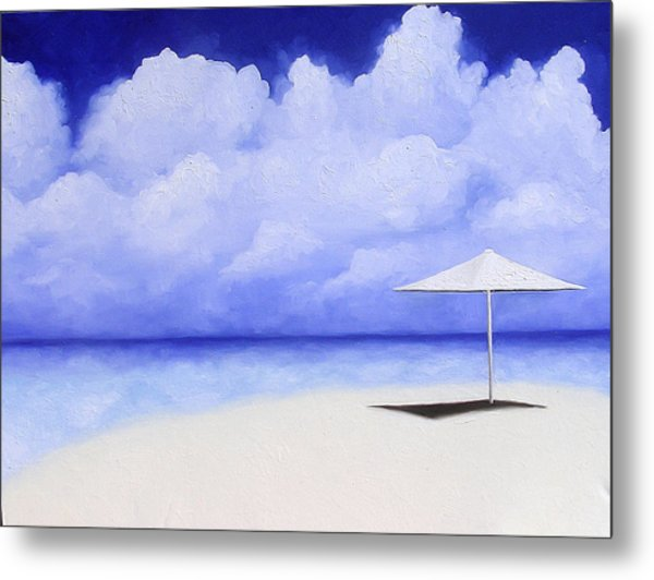 Blue Isolation Metal Print by Trisha Lambi