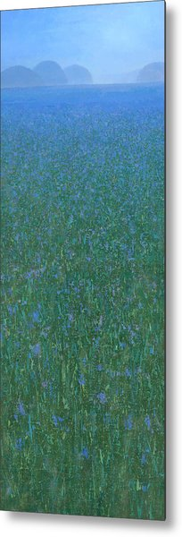 Blue Meadow 2 Metal Print