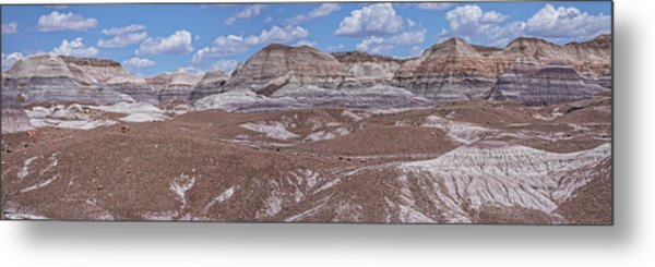 Blue Mesa At The Petrified Forest National Park Metal Print by Jim Vallee