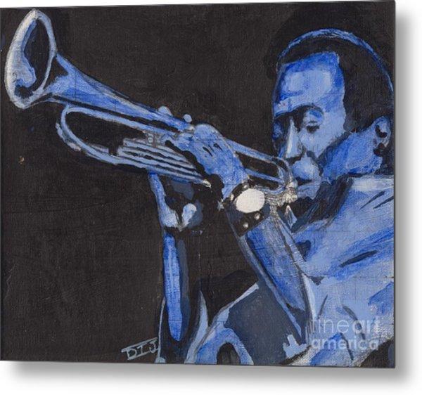 Blue Miles Metal Print