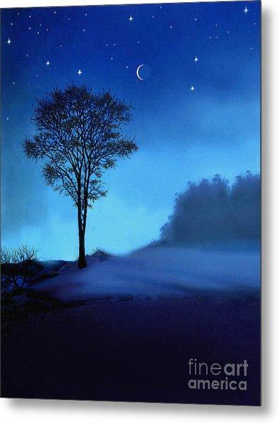 Blue Moon Metal Print by Robert Foster