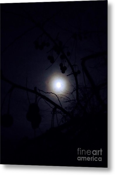 Blue Moons Metal Print by The Stone Age