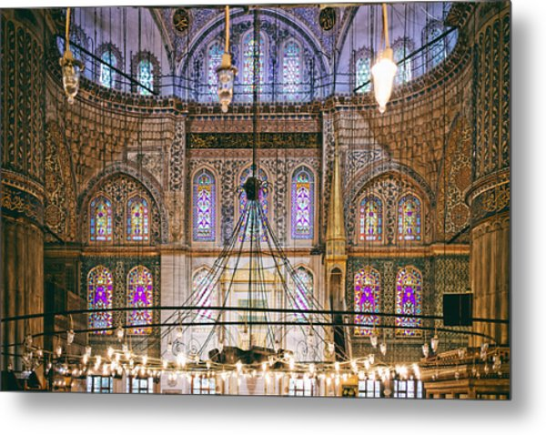 Blue Mosque Of Istanbul Metal Print