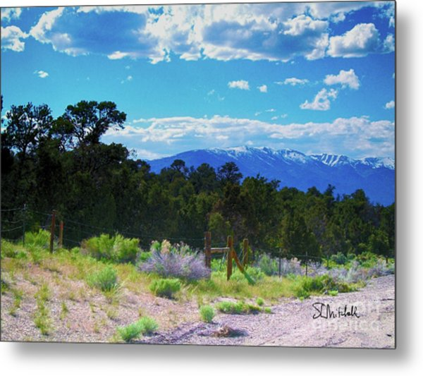 Blue Mountain West Metal Print