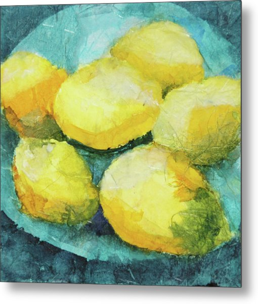 Blue Plate Special Metal Print