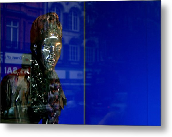 Blue Queen 2 Metal Print by Jez C Self