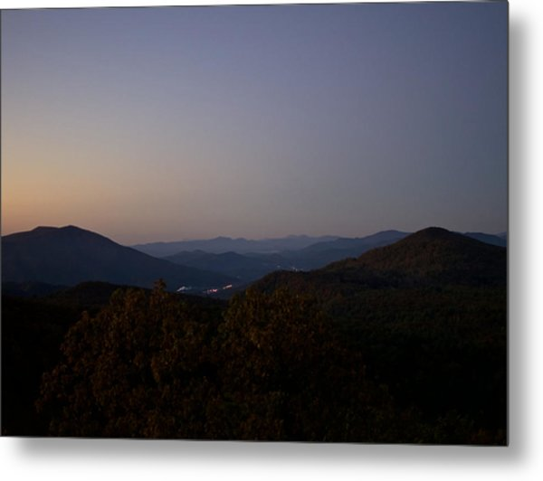Blue Ridge Dawn Metal Print