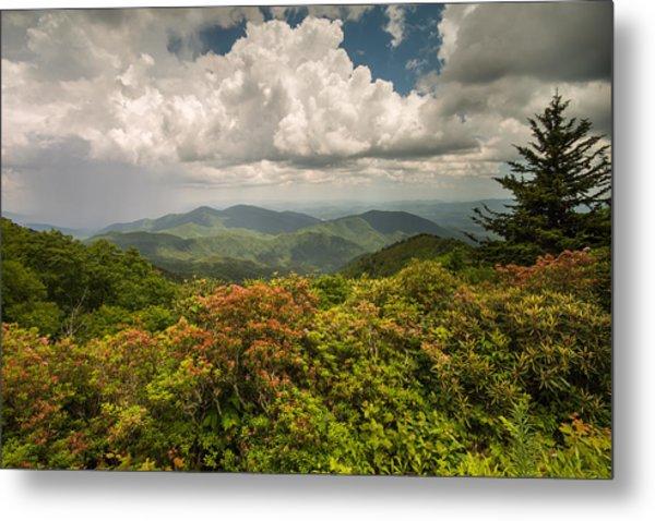 Blue Ridge Parkway Green Knob Overlook Metal Print