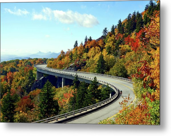 Blue Ridge Parkway Viaduct Metal Print
