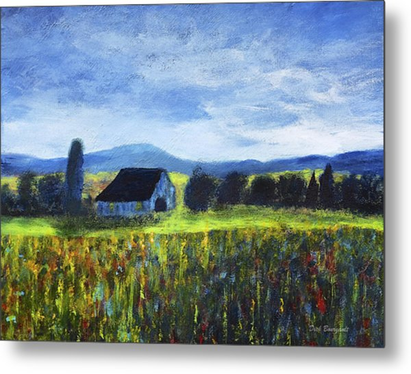 Blue Ridge Valley Metal Print