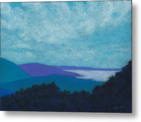 Blue Ridges 3 Metal Print