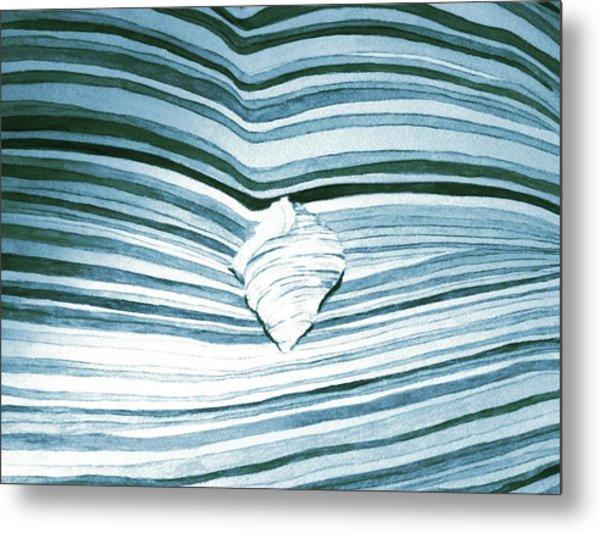 Blue Sea Metal Print by Constance Larimer