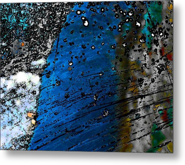 Blue Spectacular Metal Print