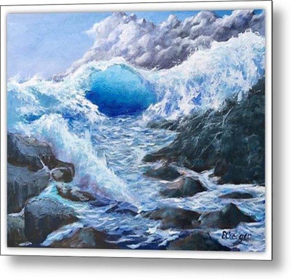 Blue Storm Metal Print