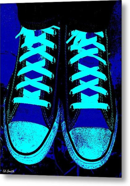 Blue-tiful Metal Print